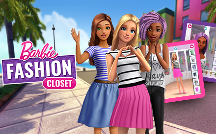 Barbie Fashion Closet Image