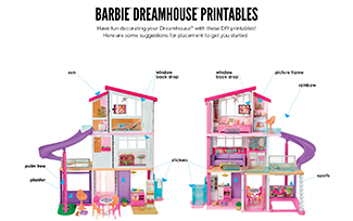 Activities Printable Dreamhouse