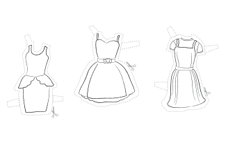 Activities Printable Fashion Paper Doll