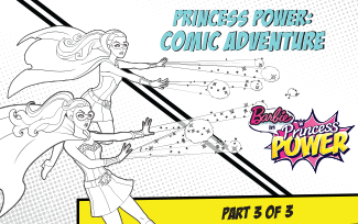 Activities Princess Power Comic