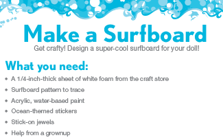 Activities Printable Make A Surfboard