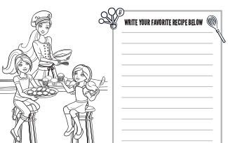 Activities Printable Baker