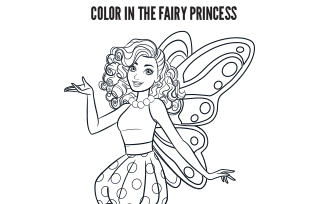 Activities Printable Fairy