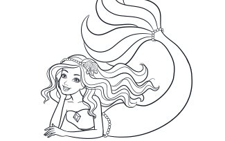 Activities Printable Mermaid