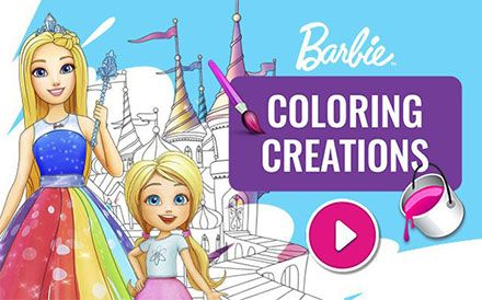 Barbie Coloring Creations Thumbnail