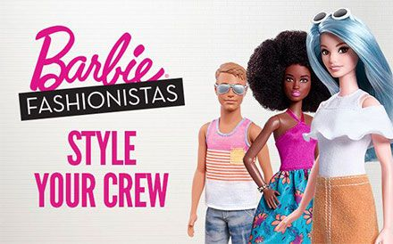 Barbie Fashionistas - Style Your Crew Image