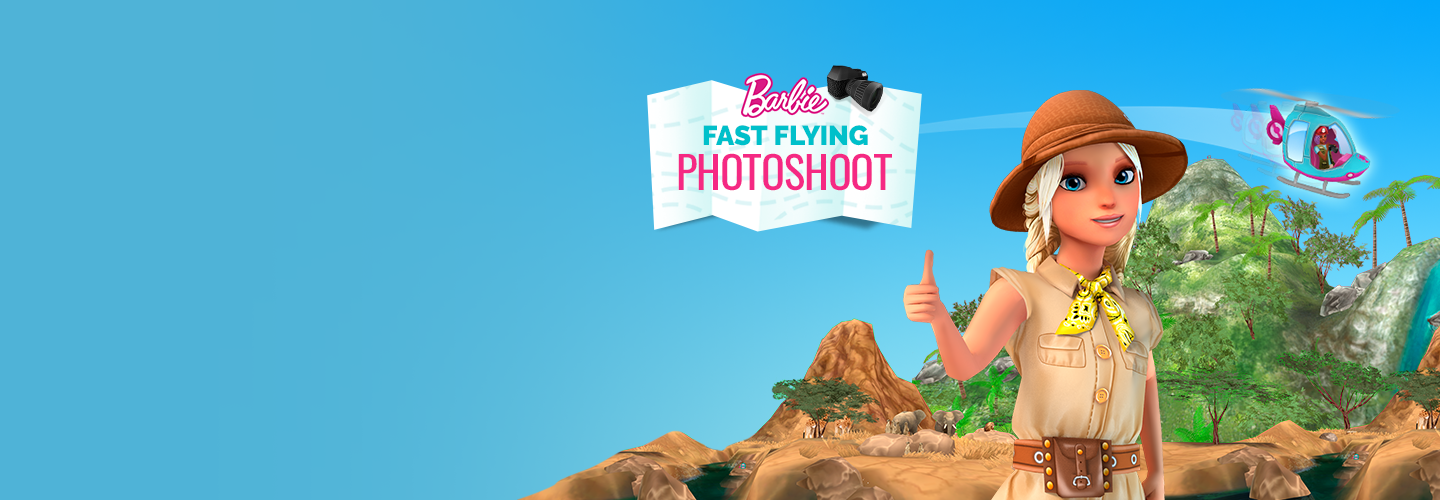 Barbie Fast Flying Game Image